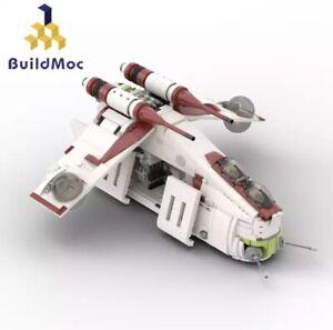 StarWars The Republic Gunship Death DIY Building Blocks Bricks Legoing Kids Toys