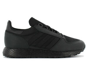 Details about Adidas Originals Forest Grove Sneaker G27822 Black Shoes Casual Trainers