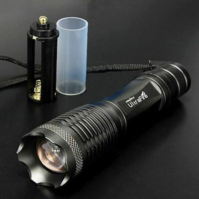 UltraFire 10000LM CREE XML T6 LED Zoomable 18650//AAA Flashlight Torch light Lamp