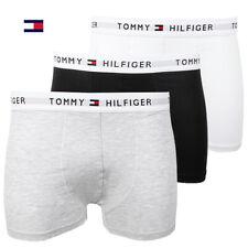 Tommy Hilfiger Men's 3 Pack Boxer Briefs Underwear Cotton Stretch Trunks