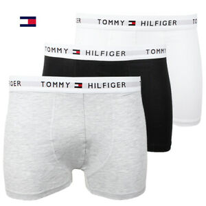 Tommy-Hilfiger-Men-039-s-3-Pack-Boxer-Briefs-Underwear-Cotton-Stretch-Trunks