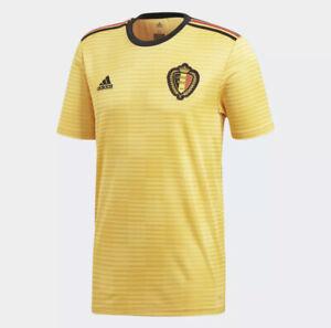 Prix Pas Cher Adidas Belgium 2018 Away Jersey-bold Or/noir/rouge Vif-id Red Fr-fr Afficher Le Titre D'origine Assurer IndéFiniment Une Apparence Nouvelle