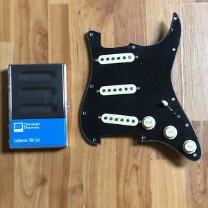 NEW-Seymour-Duncan-SSL-1-Vintage-Staggered-California-Set-Loaded-Strat-Pickguard