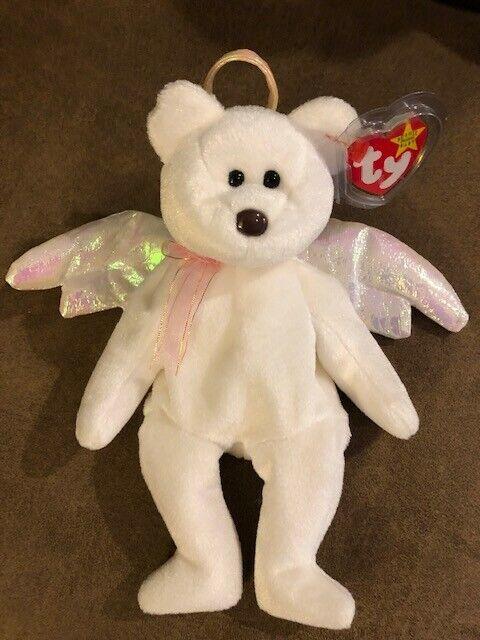 Ty Beanie Beanie Beanie Baby Rare Halo in Mint Condition d0cf9a
