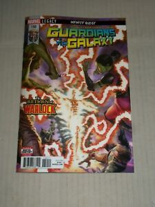 Marvel Comics 2018 Guardians of the Galaxy #150 lenticular cover