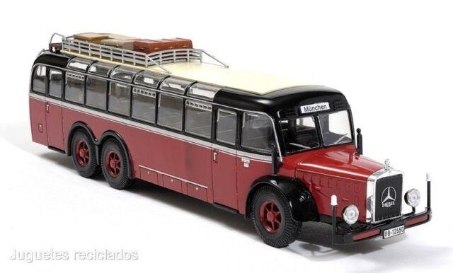 1/43 AUTOBUS MERCEDES BENZ o10000 bus IXO HACHETTE DIECAST