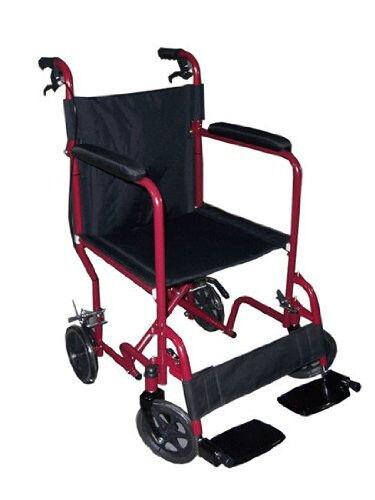 Lightweight Travel & Transport Folding Medical Wheelchair for Elderly & Disables