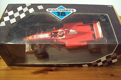 Affidabile 1/18 Ferrari F310b Eddie Irvine 1997-mostra Il Titolo Originale Lucentezza Luminosa