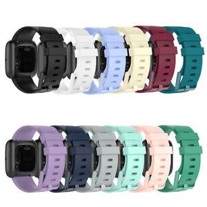 For Fitbit Versa 2 / Versa/Versa Lite Replace Silicone Watch Band Strap Belt
