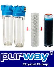 "DP2 PFAPLA 25mcr 2600L/h 3/4"" Brunnenwasserfilter Hauswasserfilter"