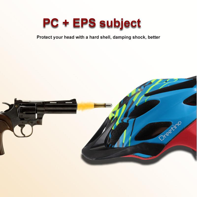 Dreetino MTB Helmet Road Racing Helmets Bike Cycling Head Predective Helmet