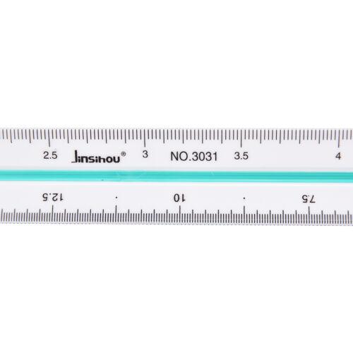 1:20 1:25 1:50 1:75 1 100 1 125 Règle échelle plastique échelle mesure vPS