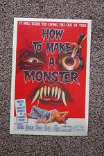 How to Make a Monster Lobby Card Movie Poster Robert Harris