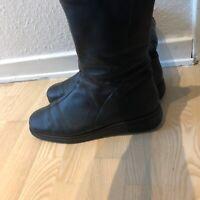 Støvler, str. 42, Ecco shape, Sort, Læder