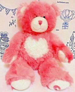 Build A Bear~Heart Bouquet~Soft Pastel Colored Hearts~HUGS~LOVE~XOXO~New~Z2