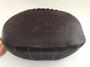 Portland-Vintage-Tweed-Brown-Rugby-Wash-Bag-Men-Present-Gents-Gift-Travel-Bag