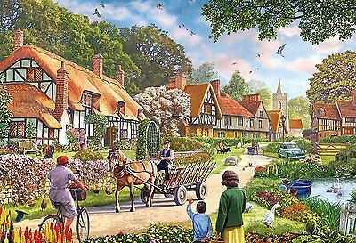 NEW! Gibsons Rural Life by Steve Crisp 100 piece extra large nostalgic jigsaw
