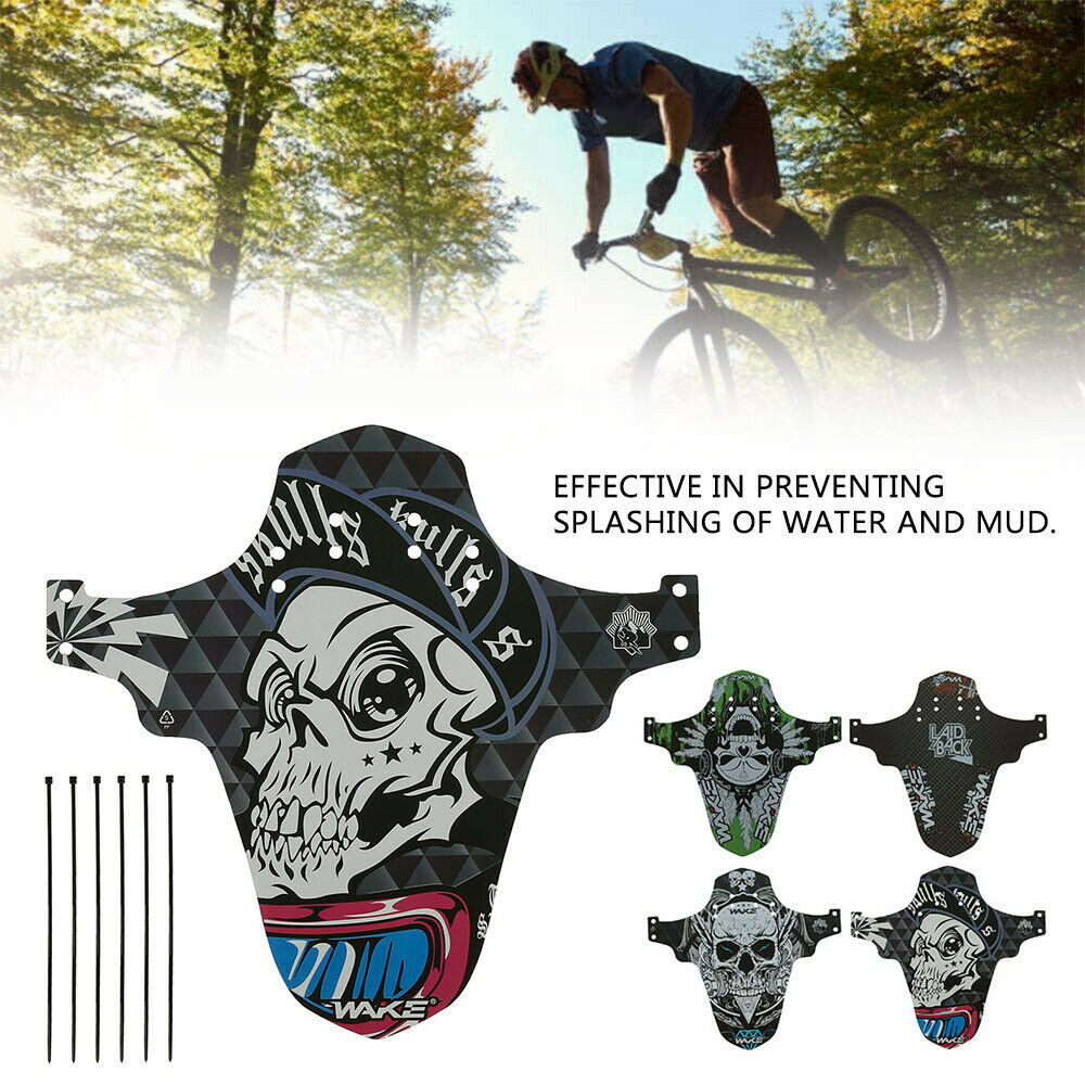 NKLC Mountain Bike Fenders Mountain Bike Mudguard Fits Removable Front Mudguard MTB Mud Guard Front and Rear Compatible Bicycle Mud Guard