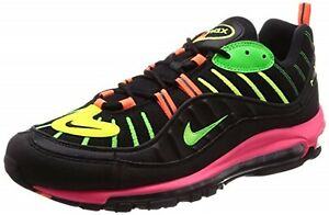 Details about NIKE AIR MAX 98 NEON BLACK BOLT CI2291 083 Japan limited NEON COLLECTION NEW