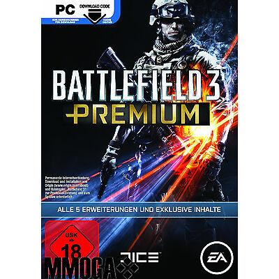 BF3 Battlefield 3 Premium Service Code / EA Origin Download Key PC [DE] Add-on