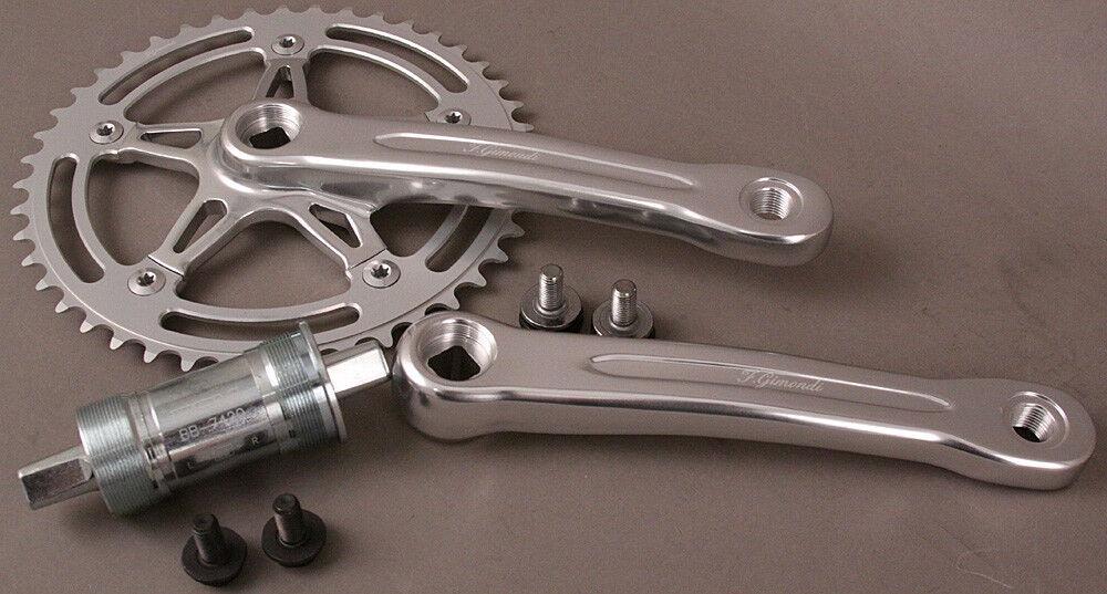 Bicicleta de pista FSA Gimondi manivela fija de engranaje una  velocidad y soporte inferior 44t 170  comprar barato
