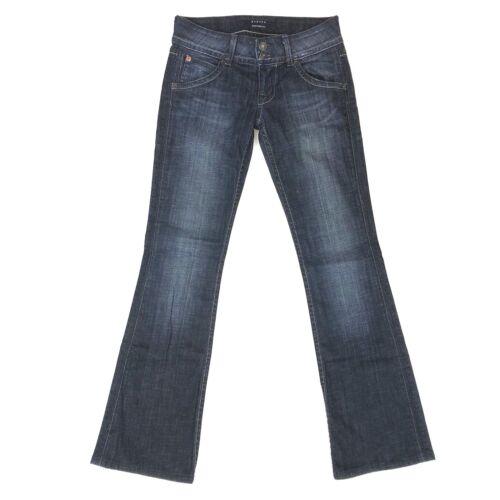 Hudson taglia Bootcut Dark Distressed Mid Wash 25 Signature Rise Womens Jeans EqXrwUE