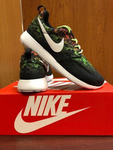 Nike Roshe run Hawaiian Print 67782 800 gs youth Multi-color
