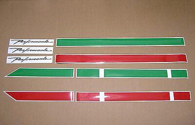 """Lamborghini Gallardo /""""Performante style/"""" stripes graphics decals lines tricolore"""