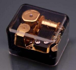 ♫  Michael Jackson Thriller  ♫  Classic Black Square Music Box