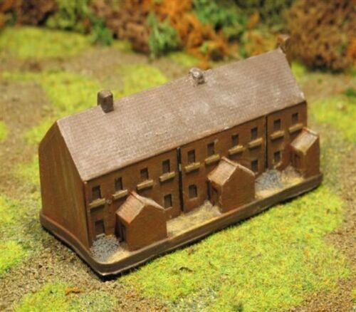 ALL PERIODS BATTLEFIELD BUILDINGS PAINTED WARGAMES TERRAIN 6MM 1//300TH