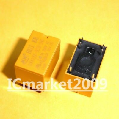 10PCS HK4100F-DC5V-SHG 5VDC Original Power Relay 6Pins