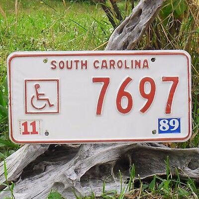 7697 Nummernschild Usa Sinnvoll Echte Kennzeichen Carolina Von Süd-