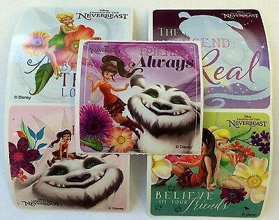 15 Disney Tinkerbell Fairies Legend Of The  Neverbeast Stickers Party Favors