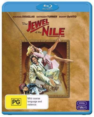 1 of 1 - The Jewel Of The Nile (Blu-ray, 2010)