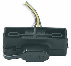 wire harness brackets hopkins # 48595 4-wire flat harness mounting bracket, tow ... kenwood car stereo wire harness remote turn on wire