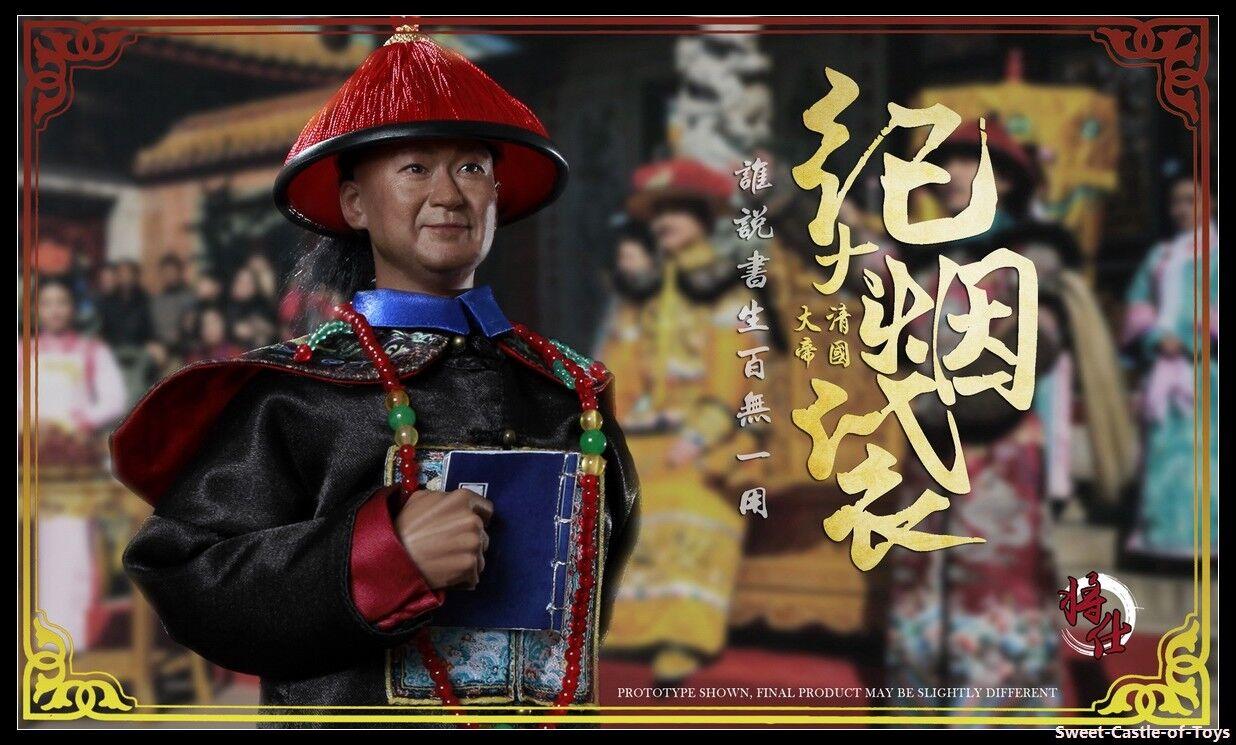 1 6 jsmodel figura el secretario de la dinastía Qing Grand Ji Yun MN005