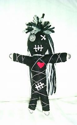 Authentic Voodoo doll real Oreo stitch 7 pins guide karma new orleans hoodoo reg