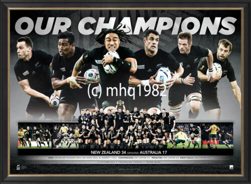 2015 WORLD CUP RUGBY CHAMPIONS ALL BLACKS LIMITED EDITION SPORTSPRINT ONLY