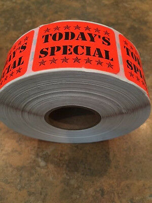"""White Blank 1.5"""" X .625 LABELS 1000 PER ROLL GREAT STICKERS"""