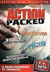 TV Sets Action Packed With Richard Anderson DVD Region 1 097361394640
