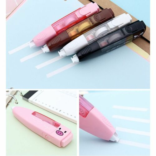 6Mx5mm Cute Animal Correction Tape White Out Office School Supplies Stationery