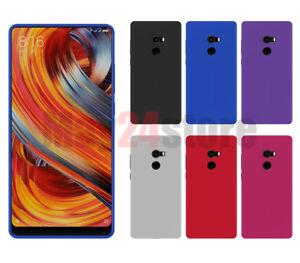 Funda-gel-lisa-Xiaomi-MI-MIX-2-protector-cristal-opcional