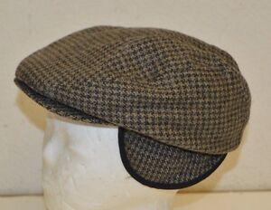 NICE Vintage DOCKERS Hunter Warm GOLF Wool Cabbie Newsboy Cap Hat ... a88194c3f9e