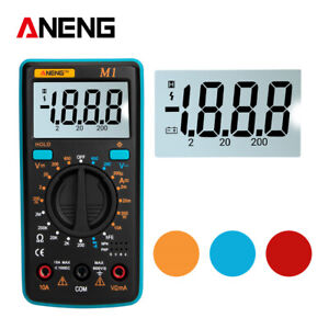 LCD-Digital-Multimeter-Voltmeter-Ammeter-AC-DC-OHM-Current-Circuit-Buzzer-Tester