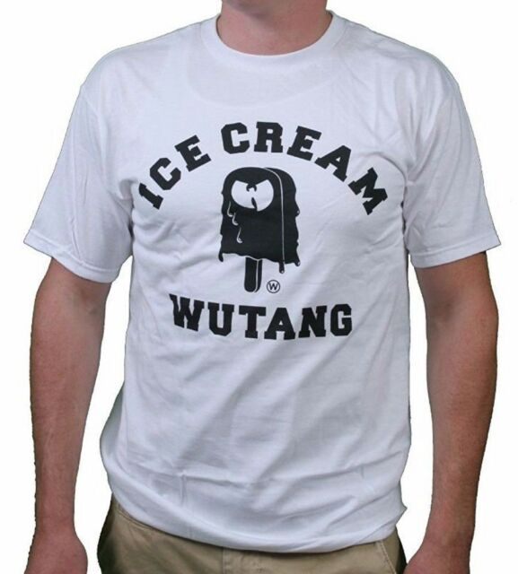 Wu Tang Ice Cream White T Shirt Raekwon Ghostface Killah Method Man