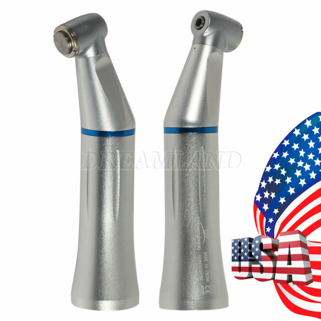 2Pcs WY Internal Channel Push Contra Angle Dental Low Speed Handpiece fit KAVO