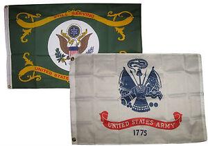 3x5 3/'x5/' Wholesale Combo Set Army White /& Airborne 101st Black Flags Flag