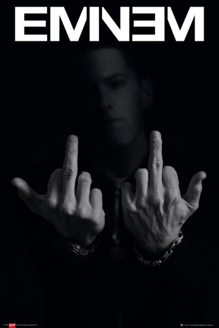 Eminem Fingers Maxi Poster 61 x 91,5 cm
