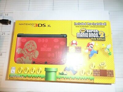 Nintendo 3ds Xl Limited Edition 1gb Red Handheld System For Sale