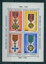 Rumänien 1994 Mi. Block 296 ** Militärorden,Military Orders,Ordini militari
